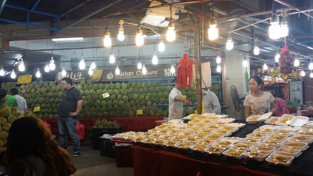 Durian Culture, Shopping in Singapore