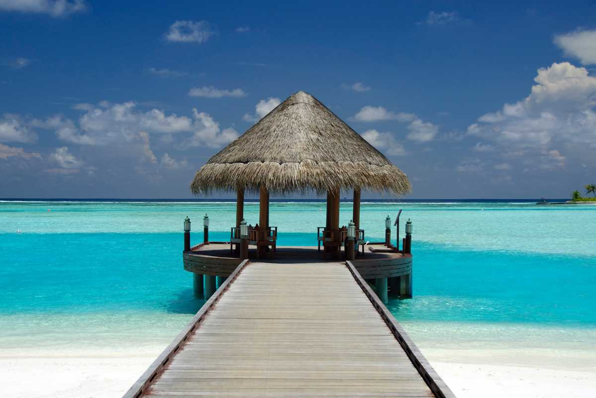 Shack at the Maldives