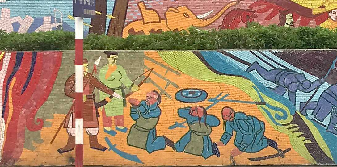 Hanoi Mosaic Mural, World's Largest Mosaic Mural, Facts about Hanoi
