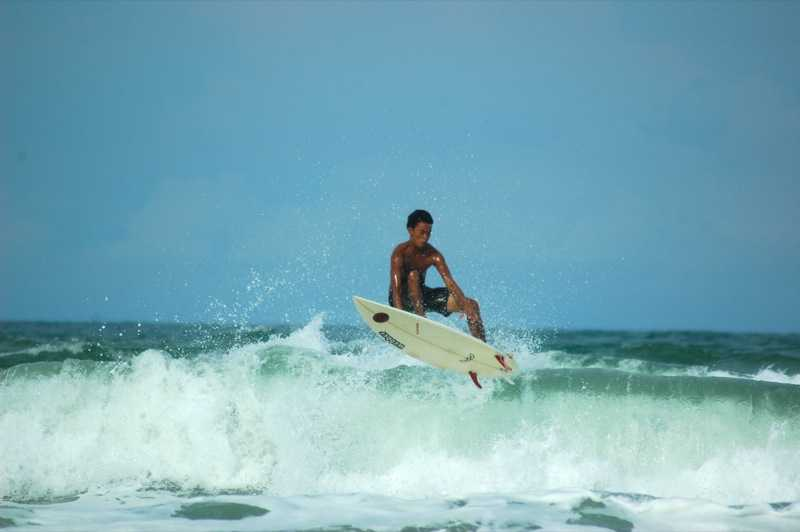 Surfing in Malaysia
