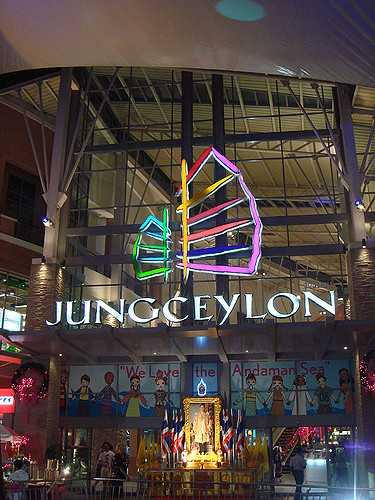 jungceylon shopping mall, Shopping in Phuket