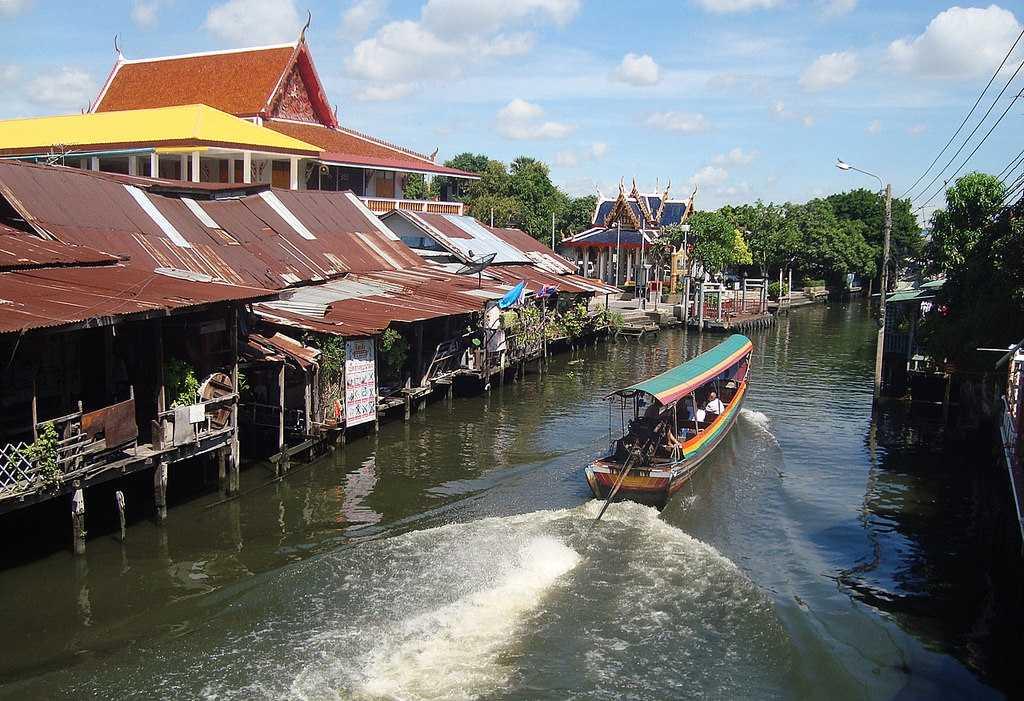 Canal along Artist's House Bangkok