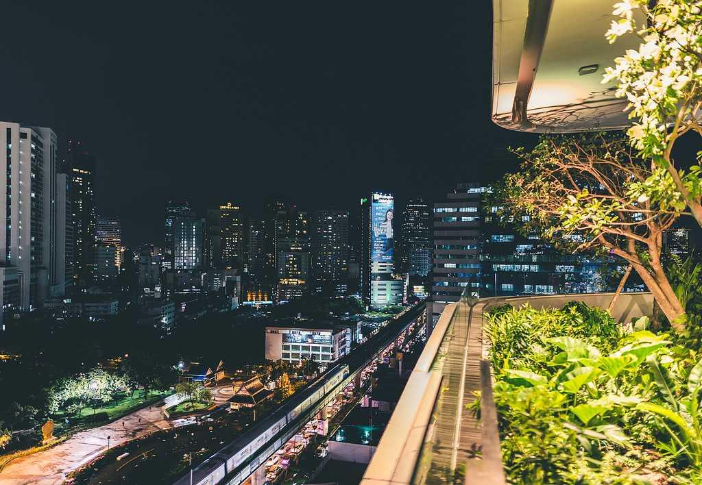 EmQuartier Mall in Em District, Bangkok