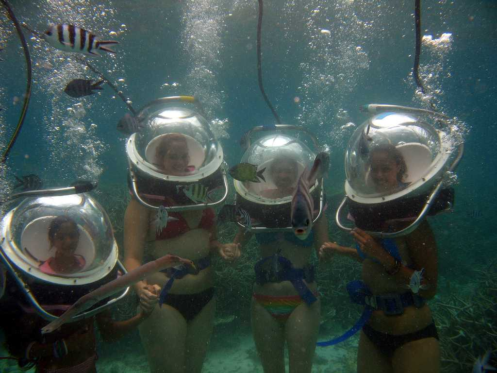 Underwater Sea Walk, water sports in Mauritius
