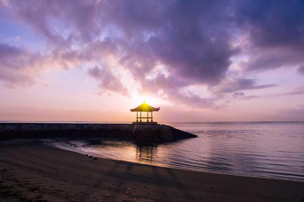 sunrise, sunrise in bali, sanur beach