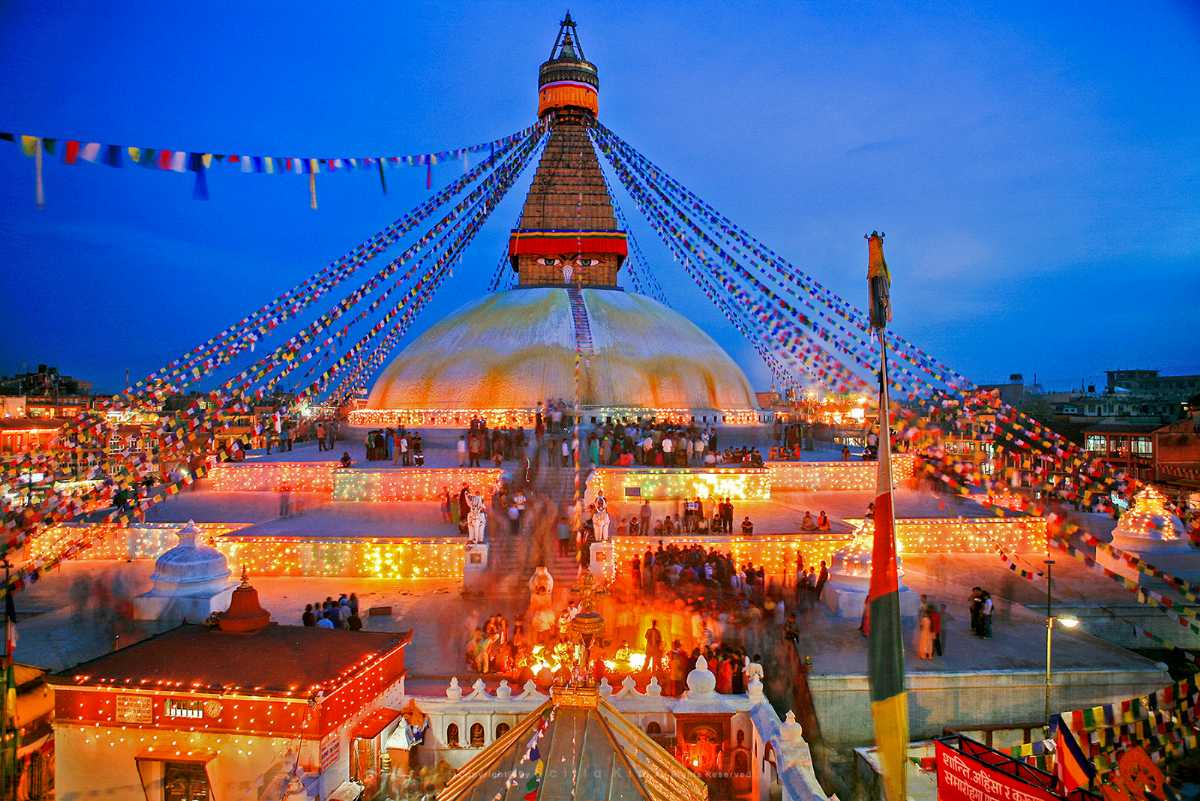 Boudhanath, Beautiful Places of Nepal for Nepal