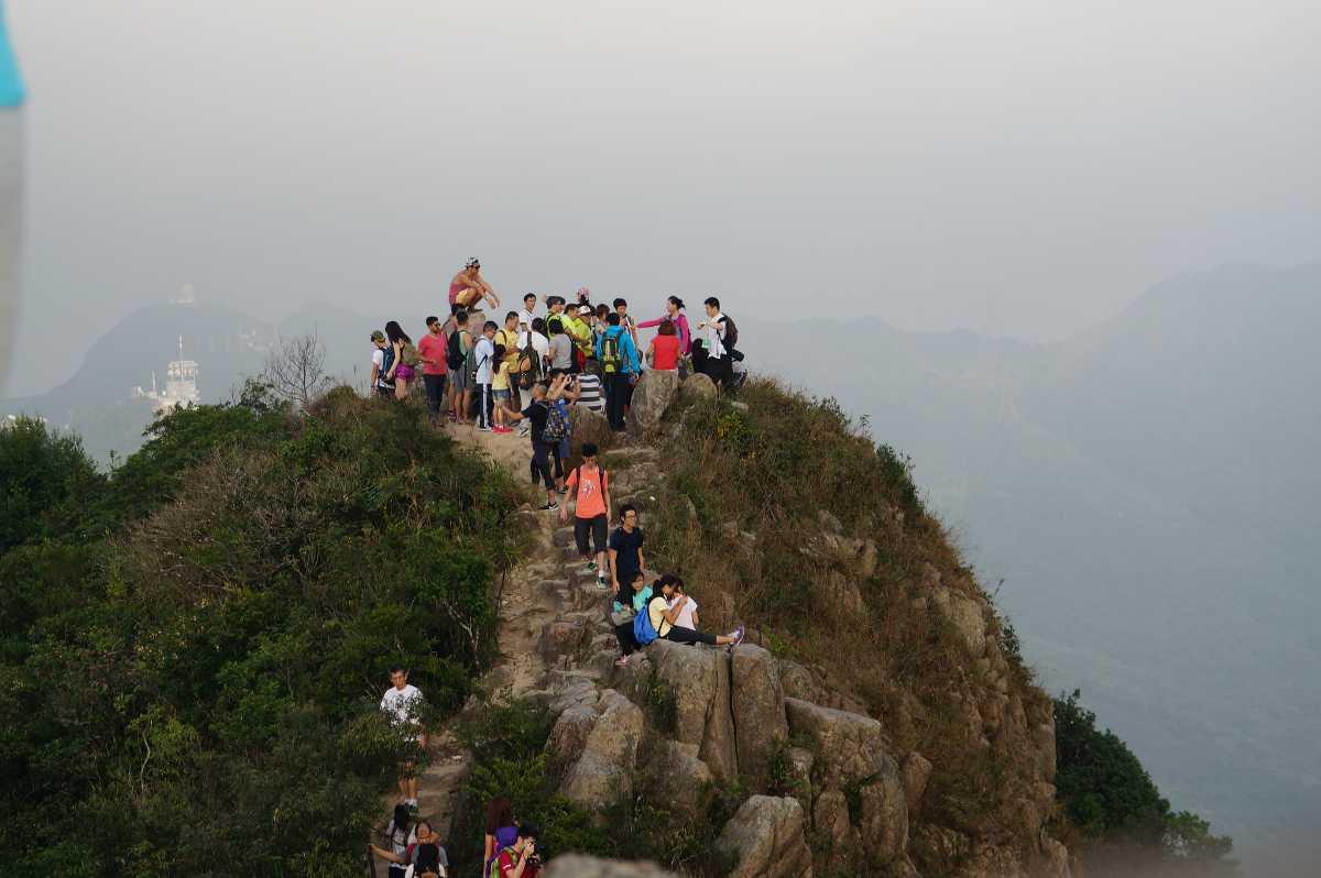 Lion Rock Hike, Hong Kong
