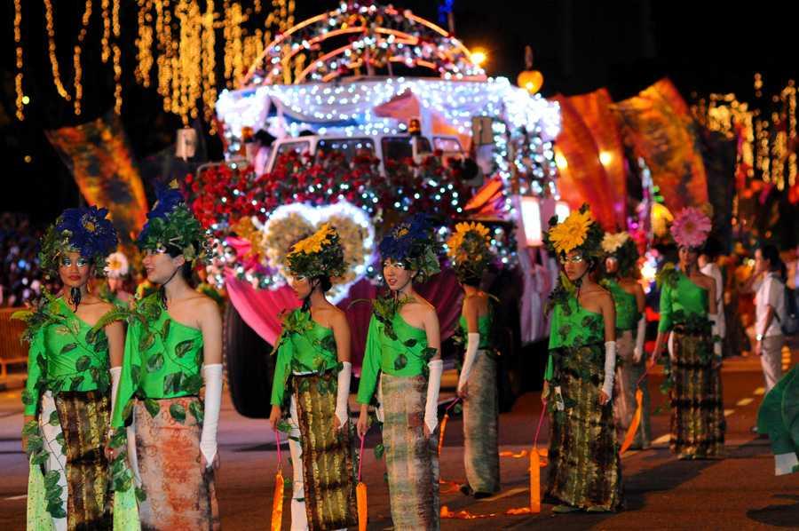 Chinese New Year Singapore, Chingay Parade