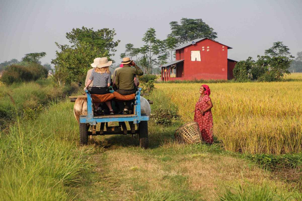 Tharus Village Nepal