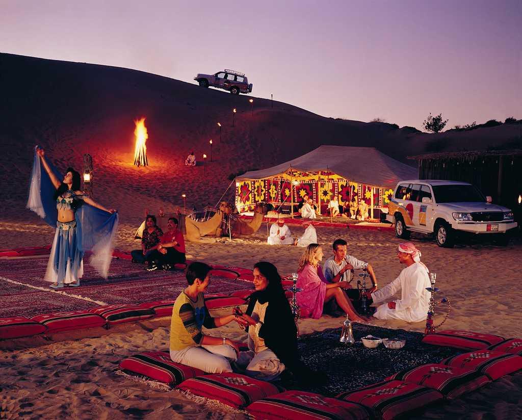 Overnight Desert Safari, Nightlife in Dubai