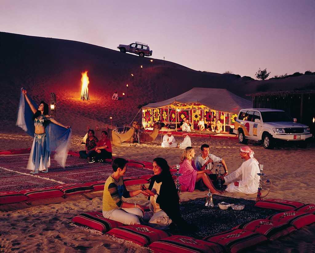 Camp away at the desert safari in Sharjah!