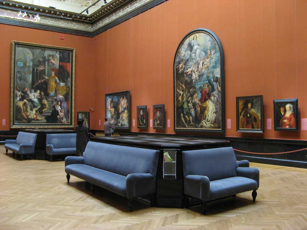 picture gallery, Kunsthistoriches museum
