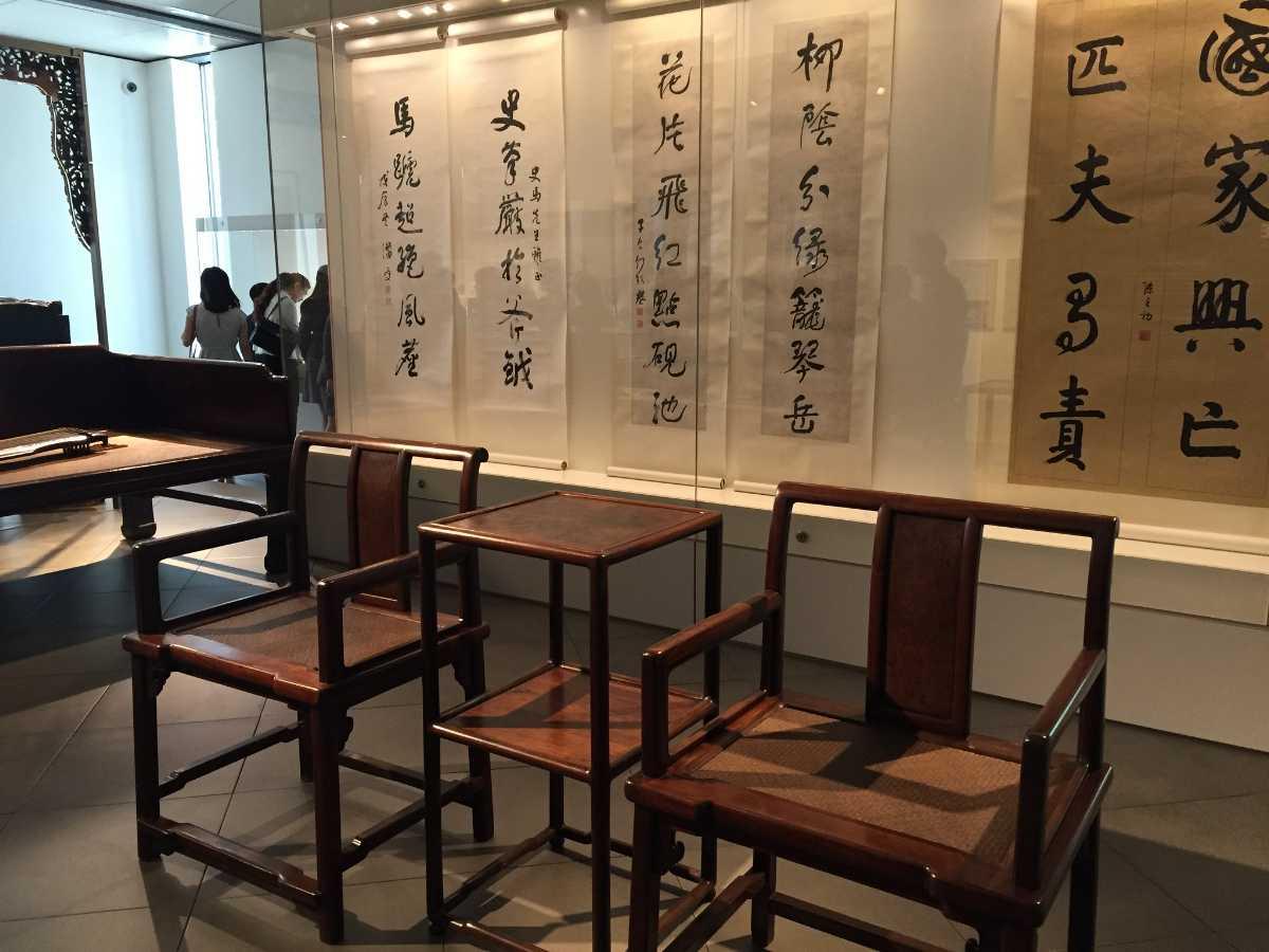 Scholar's Gallery at Asian Civilisations Museum Singapore