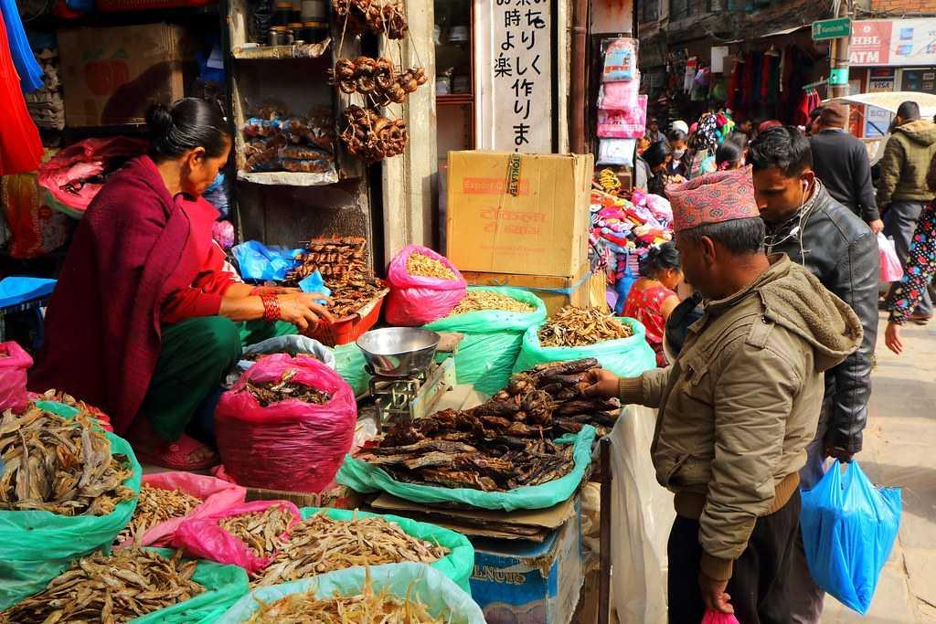 Asan Spice market