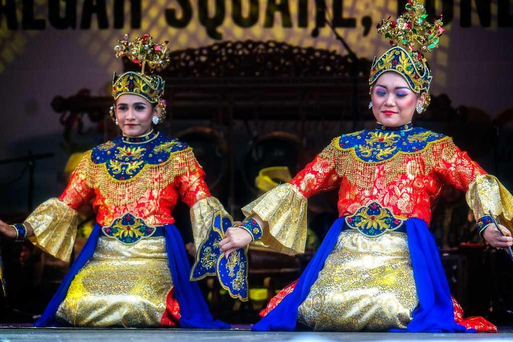 Folk dance in Malaysia