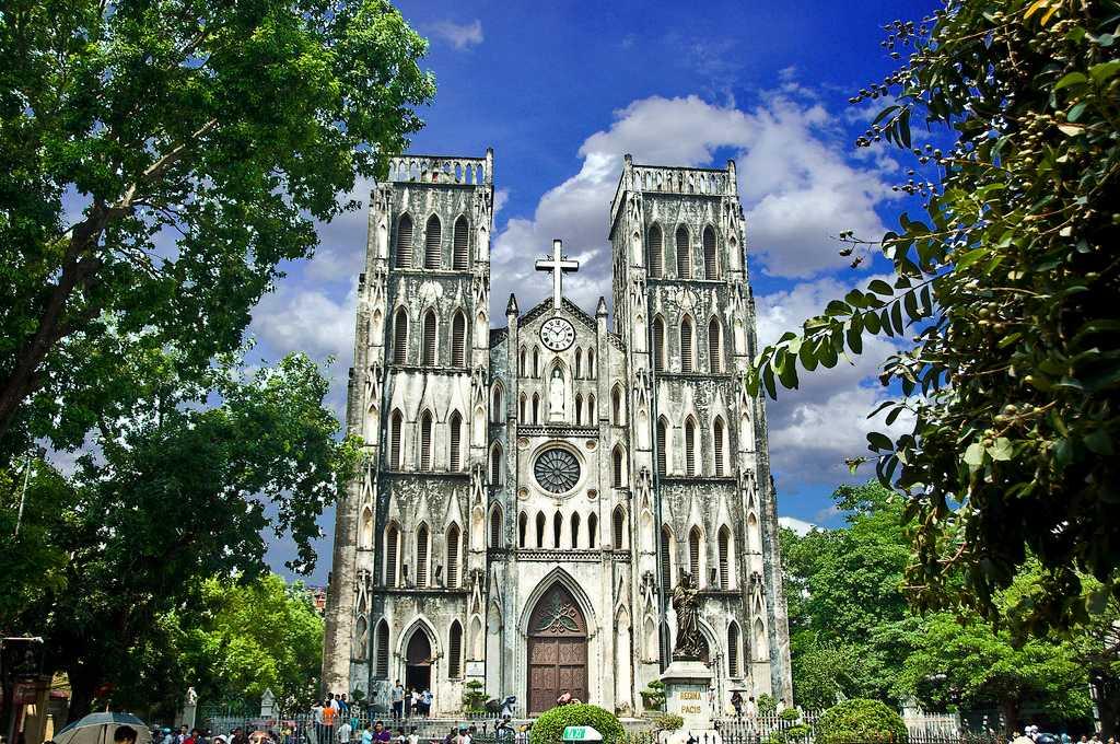 St Joseph's Cathedral Hanoi Vietnam