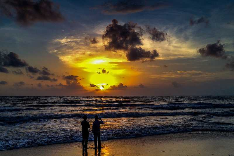 Sunset, Monsoon evening, Mangalore