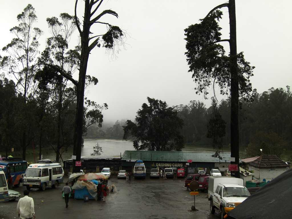 Ooty Lake after the rains