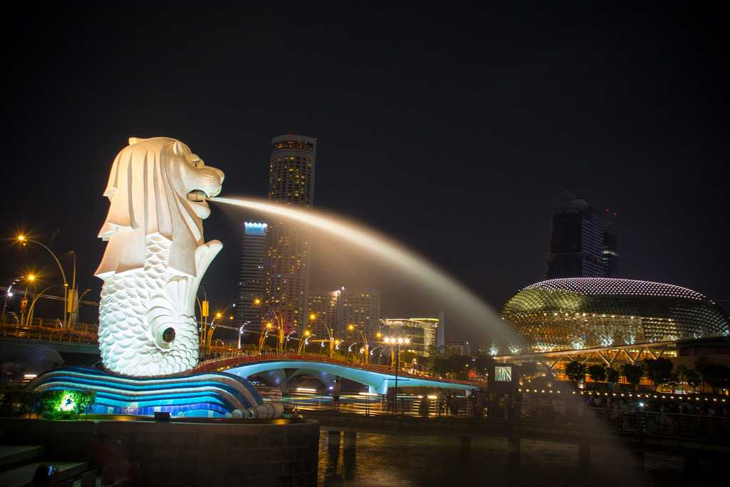Merlion Park, Singapore Weather in November