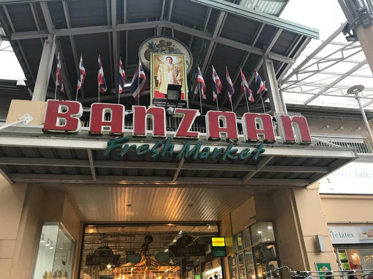 Banzaan market Phuket