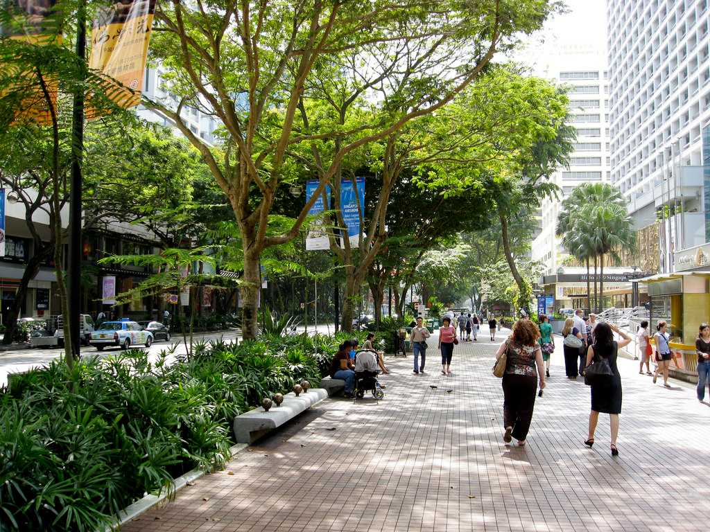 Orchard Road, Singapore in November