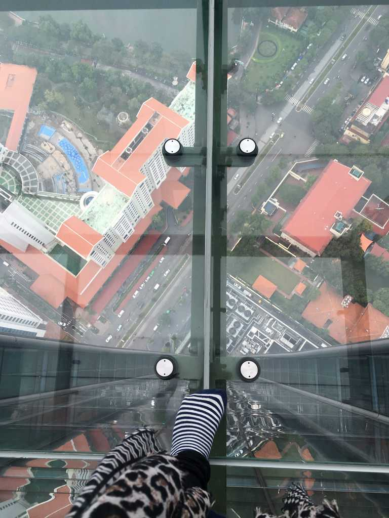 View From Lotte Observation Deck Hanoi Vietnam