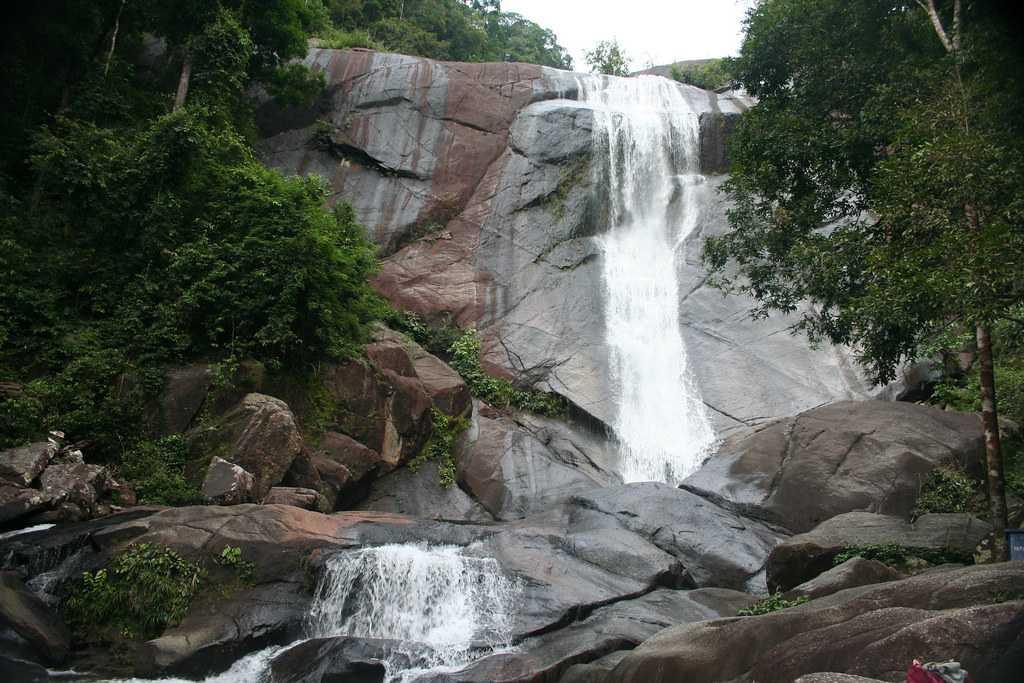 Telaga Tujuh Waterfalls Langkawi