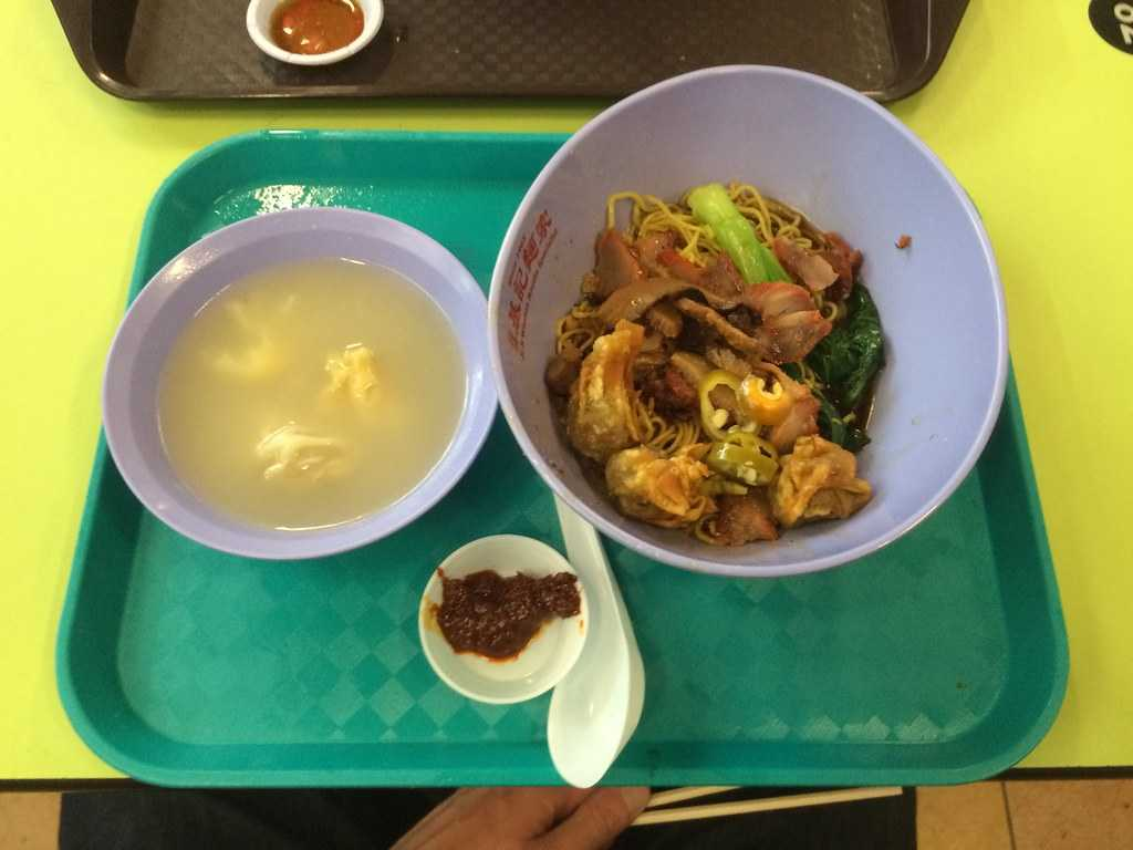Wanton Mee, dishes of Singapore