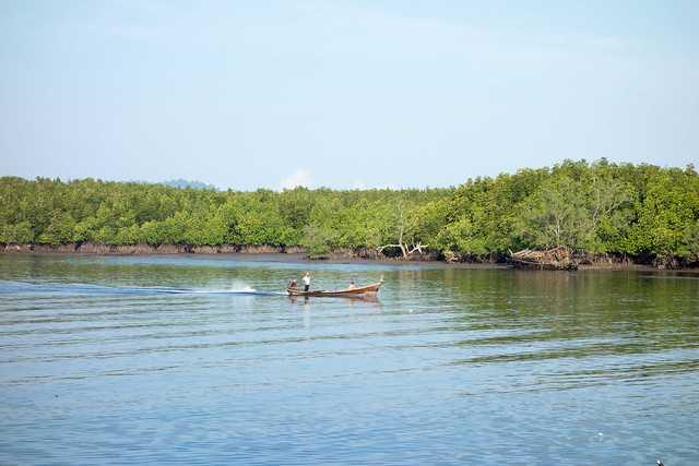 Ferry to Surin Islands