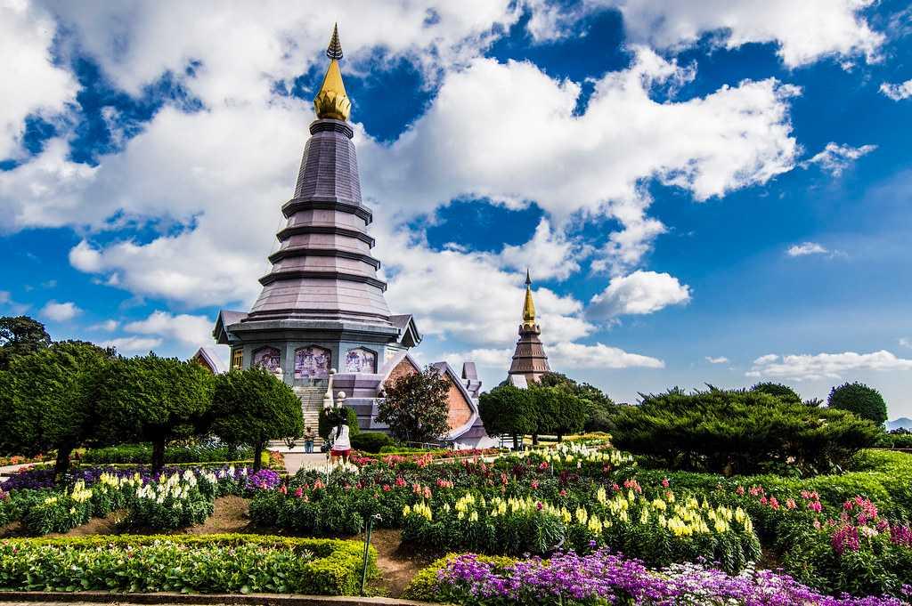 Doi Inthanon Park, Landscapes of Thailand