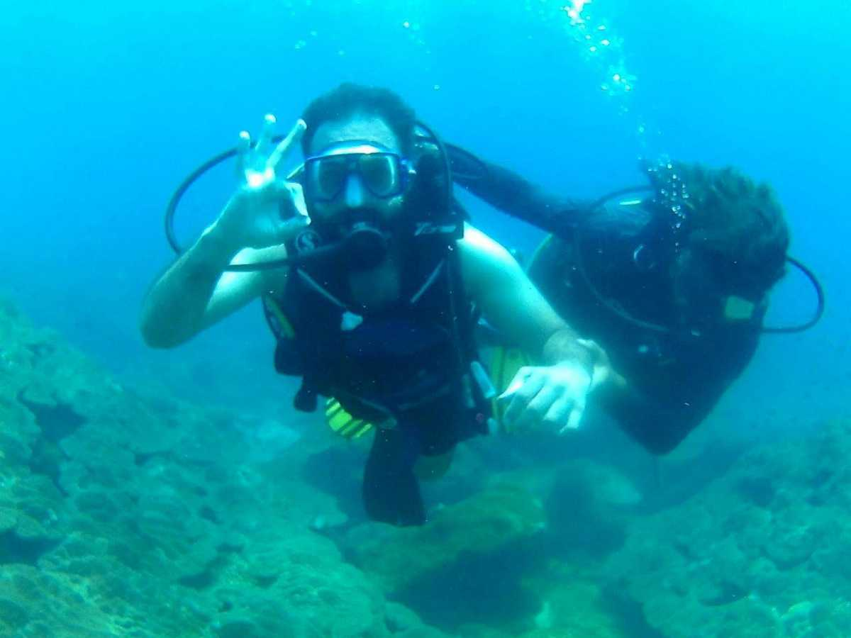 Pigeon Island,Scuba Diving in Goa