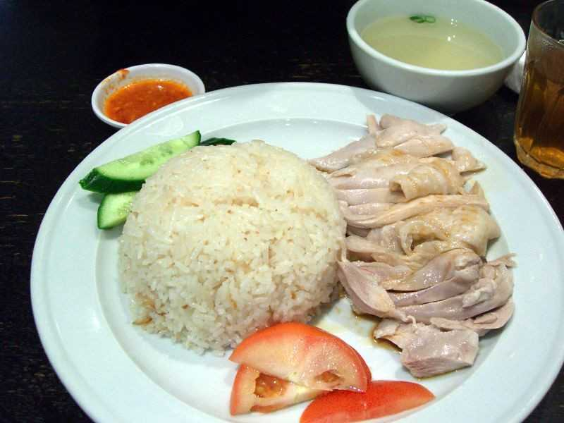 Hainanese Chicken Rice, Dishes of Singapore