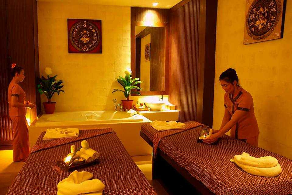 Massage Rooms at So Thai Spa, Phuket