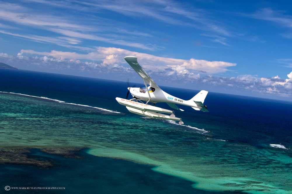 Seaplane Flight Tour, flight excursions in Mauritius, excursions in Mauritius
