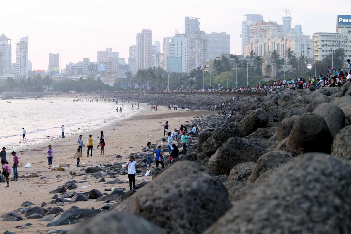 Girgaum Chowpatty (Mumbai) - Address, Beach, Map