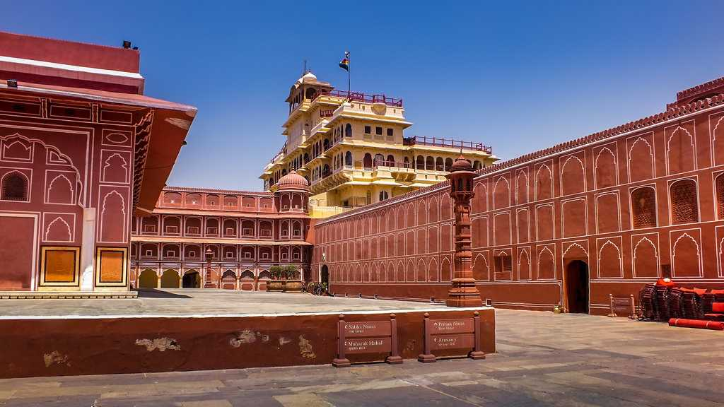 Jaipur, Palace on Wheels