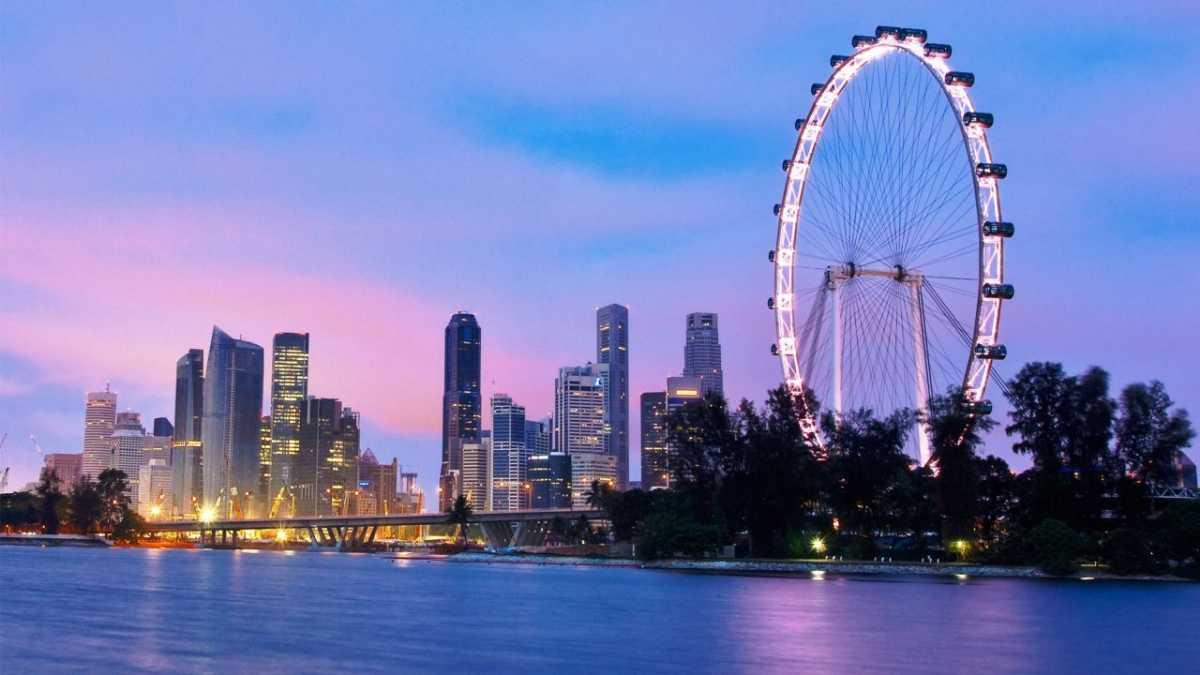 Singapore Flyer, Architecture of Singapore