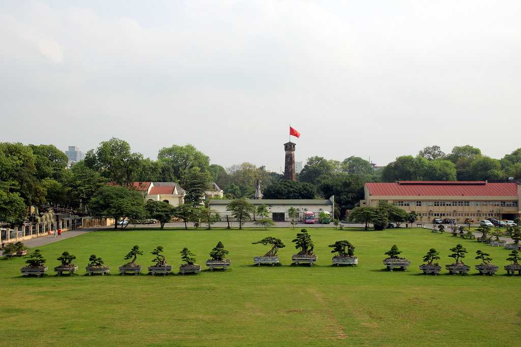 Flag Tower at Imperial Citadel of Thang Long