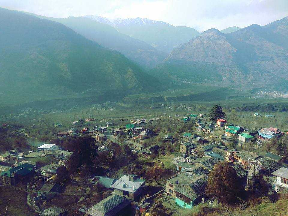 View from Naggar