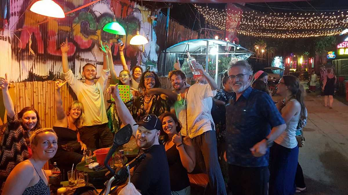 Soul Train Reggae Bar in Siem Reap