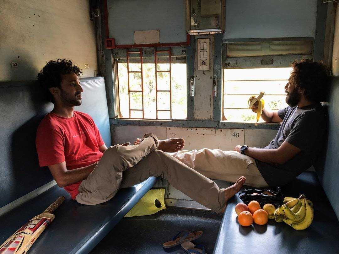 Anuj and Ishant travelling in Odisha