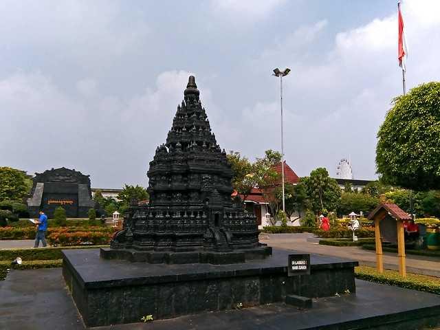 house of worship at Taman Mini Indonesia Indah