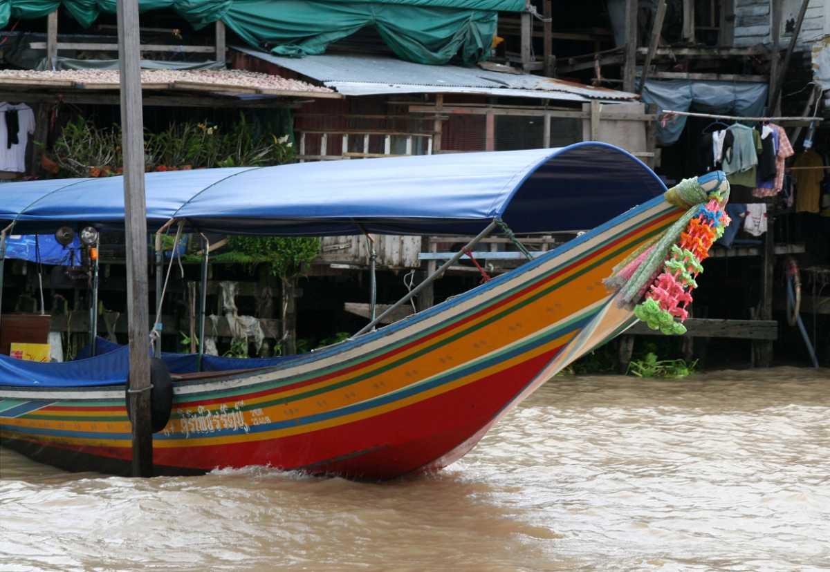 Boating in Bangkok