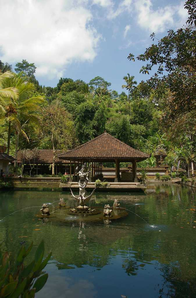 Gunung Kawi Sebatu Temple is a short Hike from the Tegalalang Rice Terraces Ubud Bali