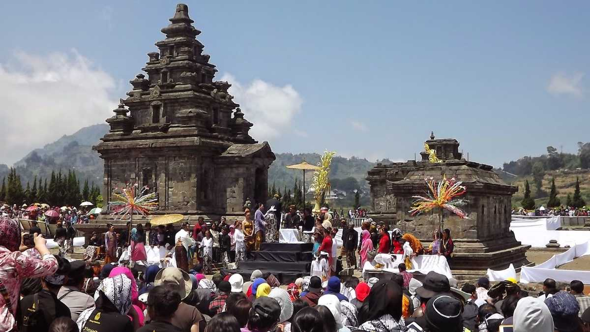 Dieng Culture Festival in Indonesia