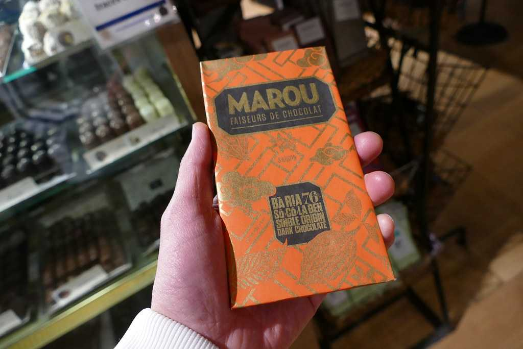 marou chocolate, shopping in saigon