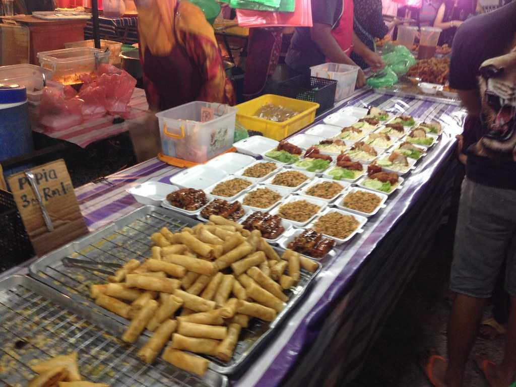 Temoyong Night Market, Langkawi