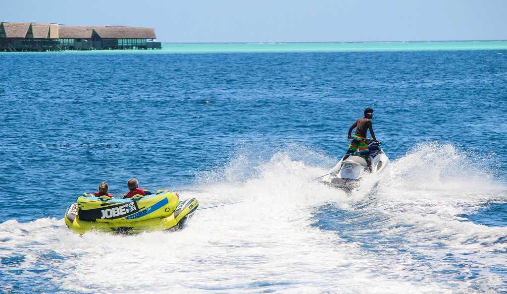 Watersports in Maldives