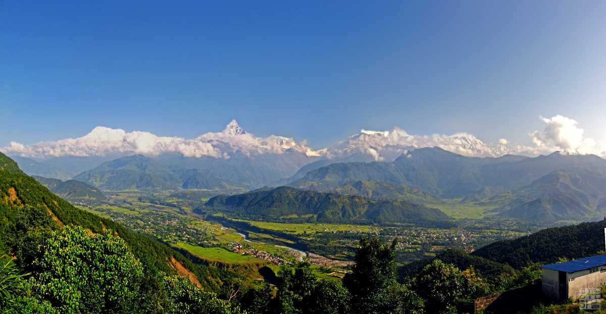 The Pokhara Skyline, Viewpoints in Pokhara