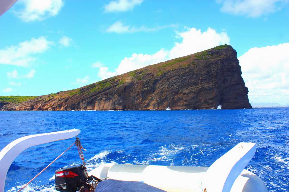 North Island, Coin de Mire, Scuba diving in Mauritius